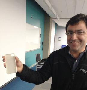 Hot off the press! 3D Printer iPhone 5 Case